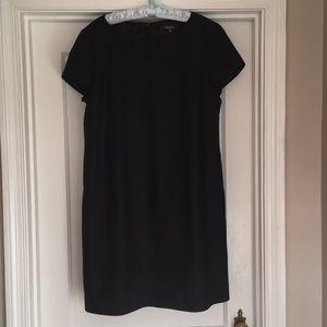 Classic Black Wool Dress